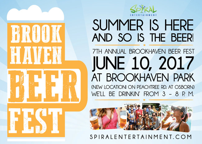 Pre-sale Tickets for Brookhaven Beer Festival 2017 in Atlanta