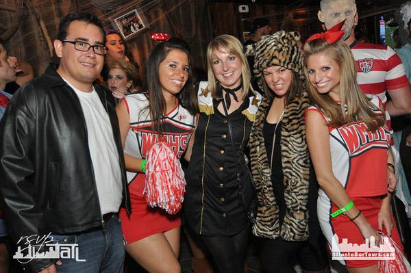 Buckhead halloween pub crawl
