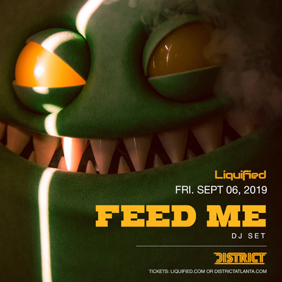 Pre-sale Tickets for Feed Me in Atlanta