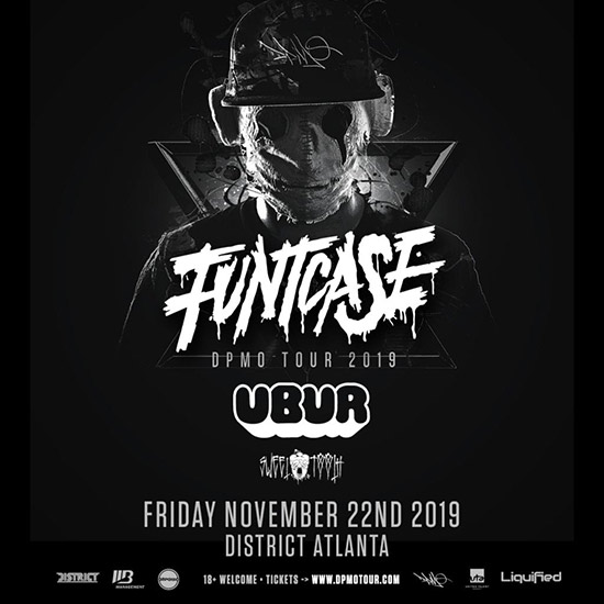Pre-sale Tickets for FuntCase w/ UBUR & Sweettooth - DPMO TOUR in Atlanta