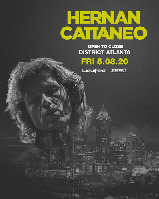 Pre-sale Tickets for Hernan Cattaneo (Open to Close) in Atlanta