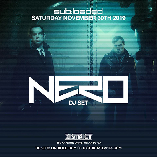 Pre-sale Tickets for NERO (DJ Set) in Atlanta