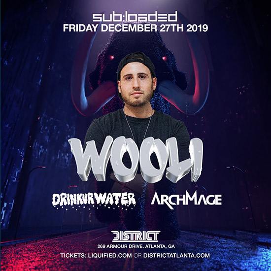 Pre-sale Tickets for Wooli with special guests Drinkurwater & Archmage in Atlanta