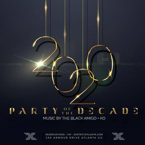 Pre-sale Tickets for Project 2020 • Party of the Decade, New Year's Eve Celebration in Atlanta