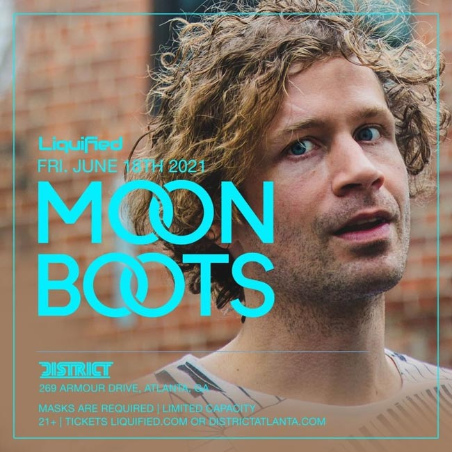 Moon Boots • Friday, June 18th • Use Promocode SINNER and SAVE