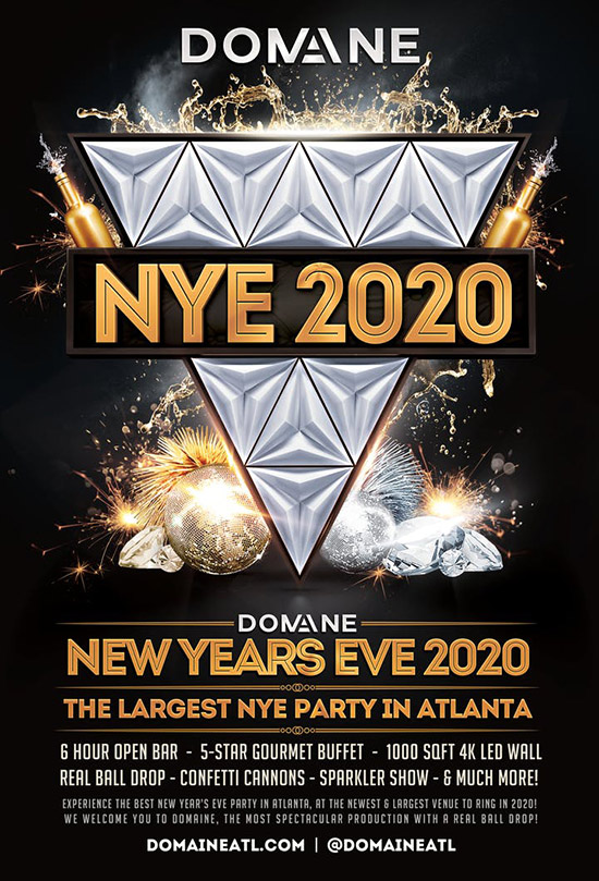 Pre-sale Tickets for New Year's Eve 2020 - The Largest NYE Party In Atlanta in Atlanta
