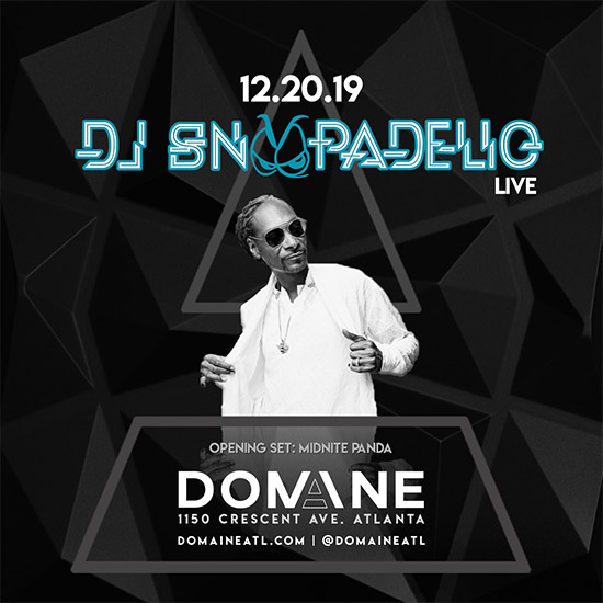 Pre-sale Tickets for DJ Snoopadelic in Atlanta