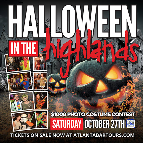 Pre-sale Tickets for Halloween in the Highlands in Atlanta