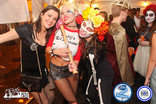 Atlanta Bar Tours presents Halloween in the Highlands