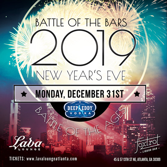 Pre-sale Tickets for Battle of the Bars. Battle of the Ages NYE 2019 in Atlanta