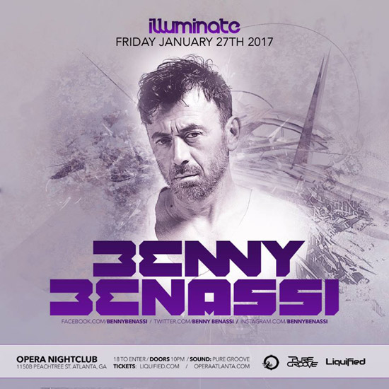 Pre-sale Tickets for Benny Benassi in Atlanta