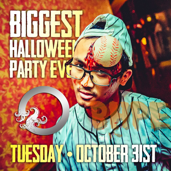 Pre-sale Tickets for Biggest Halloween Party Ever in Atlanta