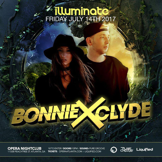 Pre-sale Tickets for Bonnie X Clyde in Atlanta