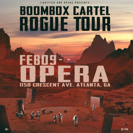 Pre-sale Tickets for Boombox Cartel Rogue Tour in Atlanta