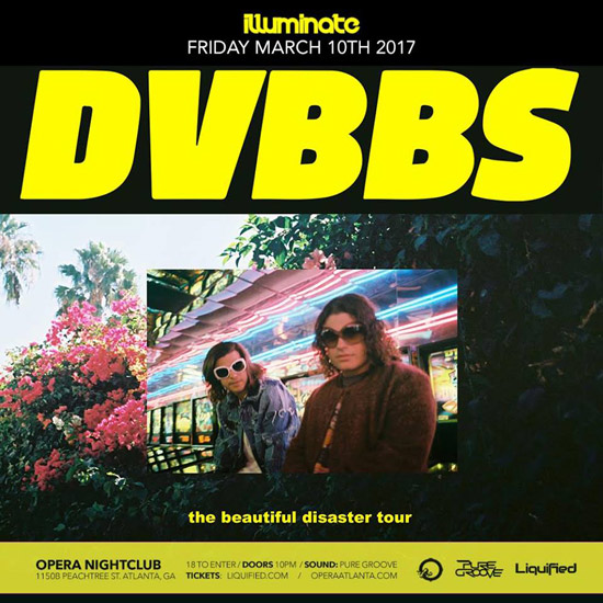 Pre-sale Tickets for DVBBS in Atlanta