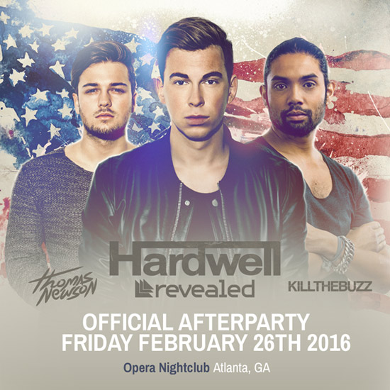 Pre-sale Tickets for Hardwell Afterparty in Atlanta