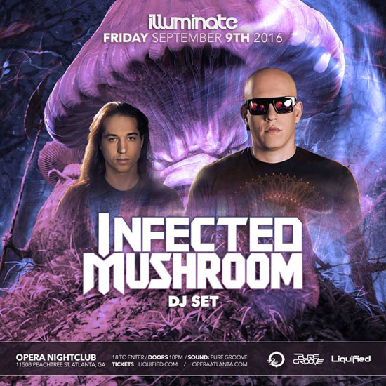 Pre-sale Tickets for Infected Mushroom in Atlanta