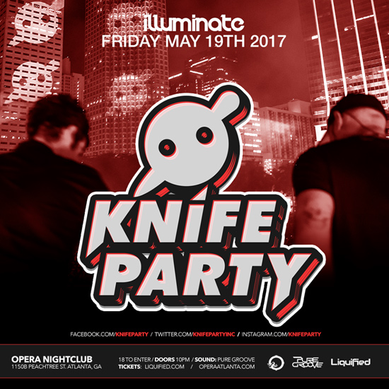 Pre-sale Tickets for Knife Party in Atlanta