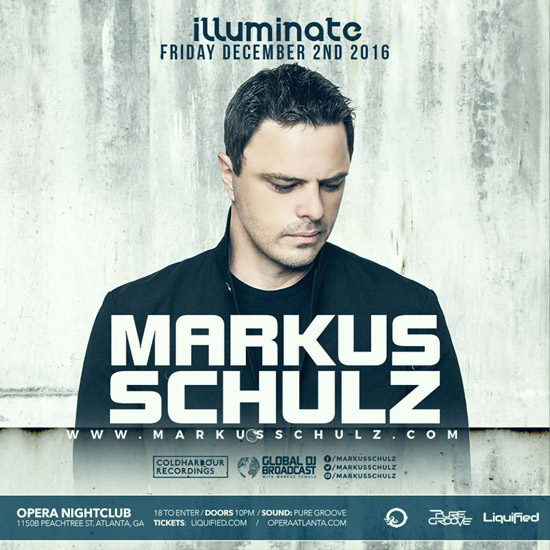 Pre-sale Tickets for Markus Schulz in Atlanta