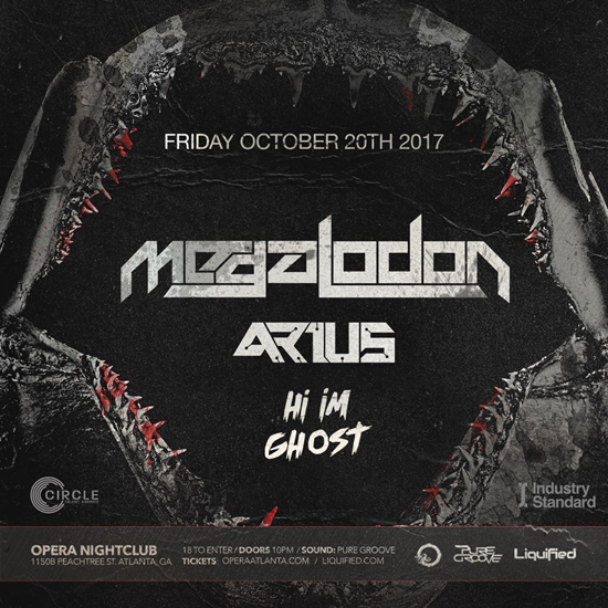 Pre-sale Tickets for Megalodon, Arius & 'Hi, I'm Ghost'  in Atlanta