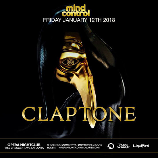 Pre-sale Tickets for Mind Control with Claptone in Atlanta
