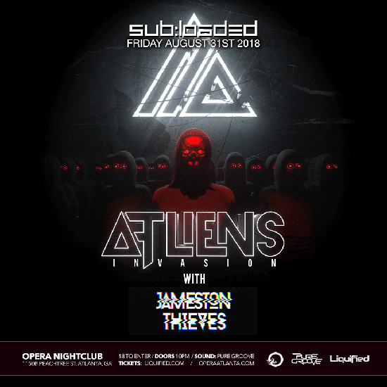 Pre-sale Tickets for ATLiens Invasion with Jameston Thieves in Atlanta