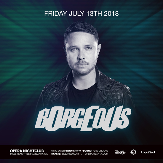 Pre-sale Tickets for Borgeous in Atlanta