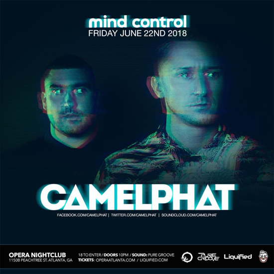 Pre-sale Tickets for CamelPhat (Mind Control) in Atlanta