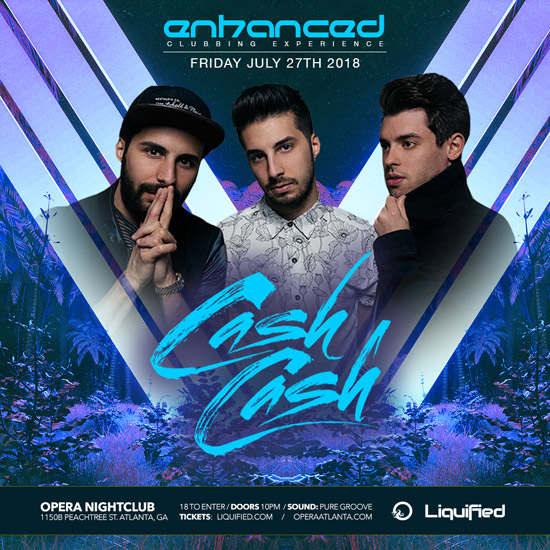 Pre-sale Tickets for Cash Cash - Enhanced Clubbing Experience in Atlanta