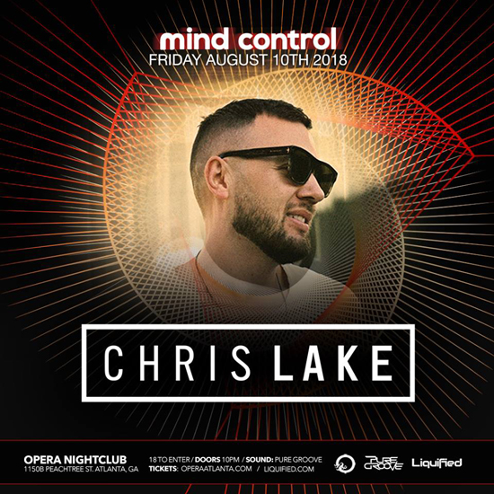 Pre-sale Tickets for Chris Lake in Atlanta