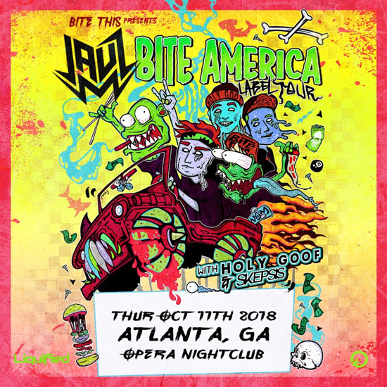 Pre-sale Tickets for JAUZ - Bite America Label Tour in Atlanta