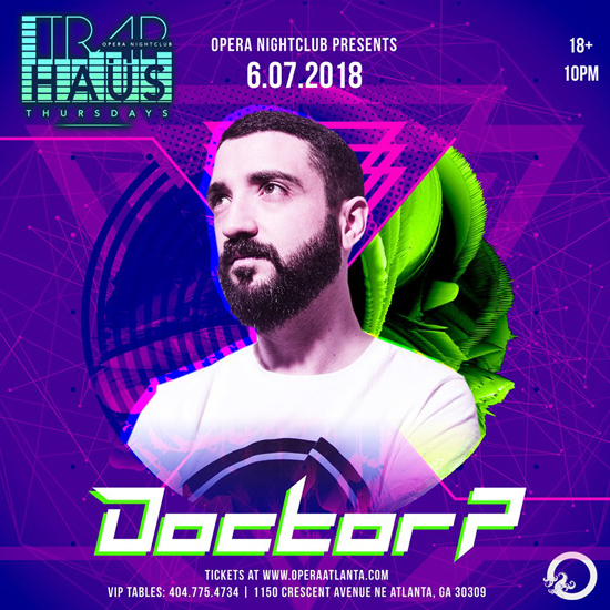 Pre-sale Tickets for Doctor P in Atlanta