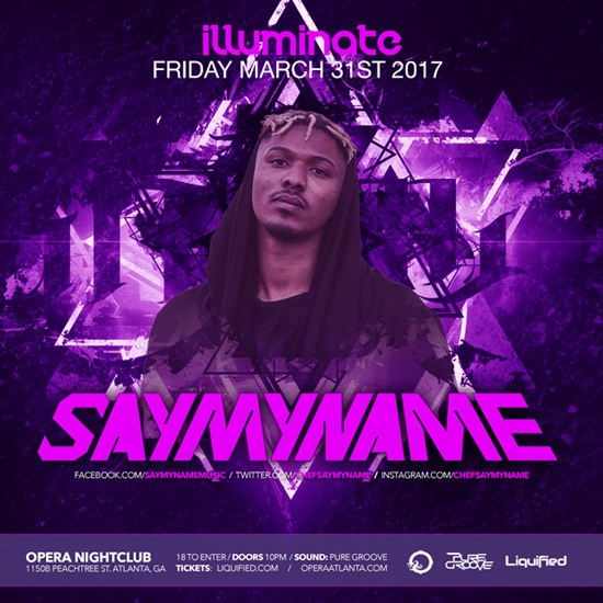 Pre-sale Tickets for SAYMYNAME in Atlanta