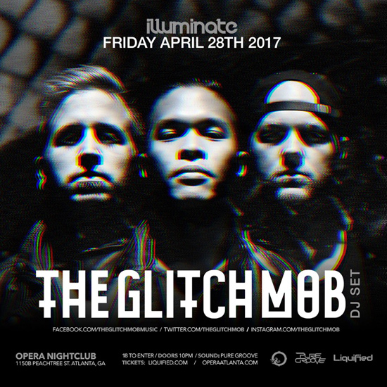 Pre-sale Tickets for The Glitch Mob in Atlanta