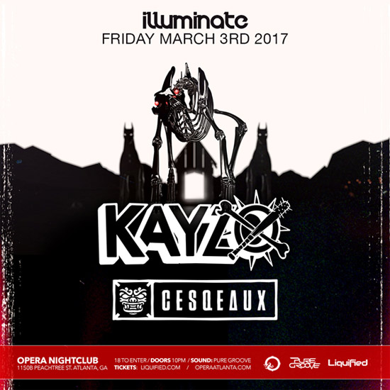 Pre-sale Tickets for Kayzo & Cesqeaux in Atlanta