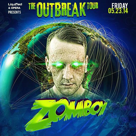 Zomboy at Buckhead Theatre  Apr 13 2019  Atlanta GA