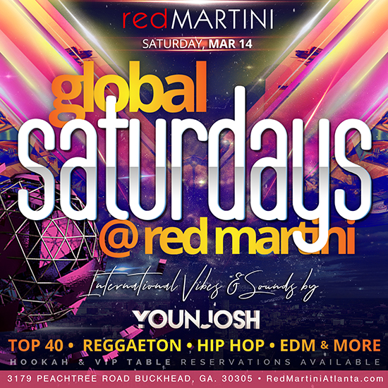 Free Guest List for Red Martini in Buckhead