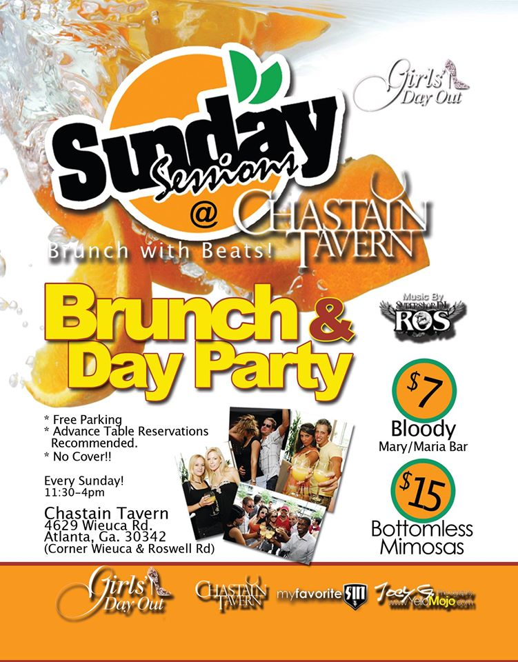 Sunday Brunch at Loca Luna Atlanta