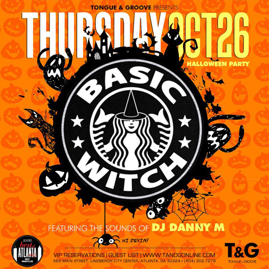 Pre-sale Tickets for Basic Witch Halloween 2017  in Atlanta