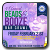 Pre-sale Tickets for 6th Annual Beads & Booze Bar Crawl  in Atlanta